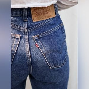 Vintage High Waisted 505 Levi's Mom Jeans Sz 8/10
